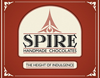 Spire Chocolates - Branding Design