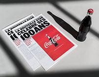100th Newspaper • Coca-Cola