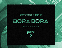 Posters for Bora Bora. Part 2