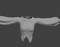 Blouse 3D