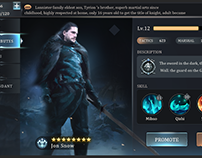 Game of Thrones Game_UI
