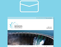 HDWG Logo and E-mail Newsletter Design