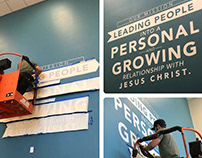 Calera Campus Mission Statement Wall Art