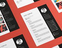 Pro Resume/CV - Sam