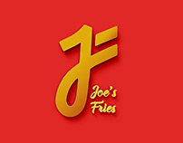 Joe's Fries logo design