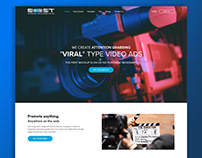 UI/UX design for Video marketing company