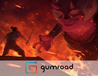 Issunboshi vs Oni Gumroad