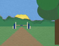 Straight vs. Bezier Animation