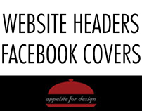 Website Headers and Facebook Cover Photos