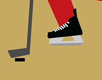 Sochi 2014 Hockey Illustrations