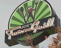 Joe's FarmGrill - Restaurant Brand Design