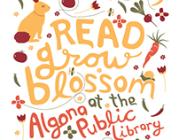 READ, GROW, BLOSSOM Summer Reading Program
