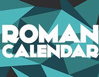 Roman Calendar - Low poly