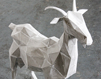 GOAT SCULPTURE ( Capella )