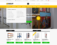 Webshop design