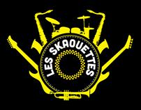 Les Skaouettes - Identité visuelle et merchandising
