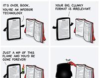 iPad vs un livre