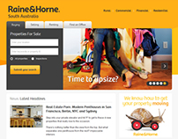 Raine & Horne SA - RHSA Website 2013