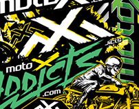 Moto X Addicts - Branding