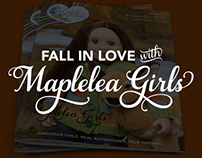Maplelea Catalogue Covers