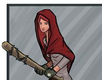 Little Red Riding Hood - Concept Art