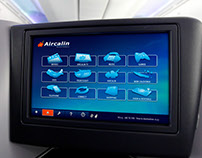 Aircalin Airlines GUI screens