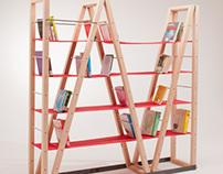 Scaleno | Collapsible Bookshelf