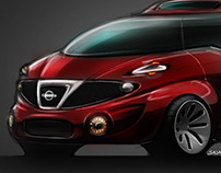 Local Motors - Nissan XProject sketches