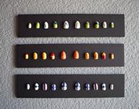 Garamond Type Study - Nail Art