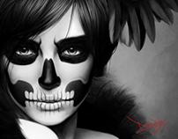 Raven Queen - Digital Painting