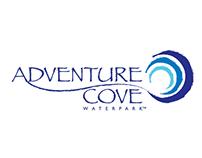 Adventure Cove Waterpark Logo Design