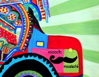truck art inspired branding