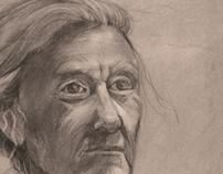 Charcoal Portraits: Fall '12