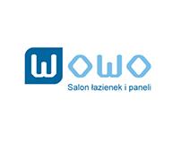 Logo dla salonu łazienek i paneli podłogowych.