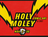 Holy Moley More Comic Art catalog