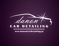 Logo for Danon Car Detailing in Krakow.