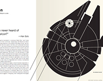 Star Wars Technical Journal // Book Re-design