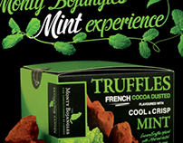 Mint truffles advertisement