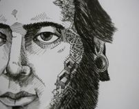 Portraits / Cut & Drawn