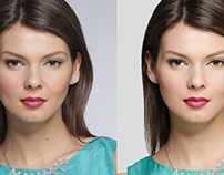 Color correction and retouching for TOPBRANDS.ru