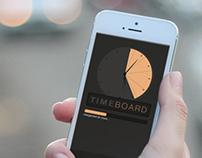 TimeBoard // App - 2013