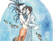 The Mermaid Takes a Human Lover - 1984 | Splash Print