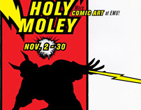 Holey Moley Poster Series