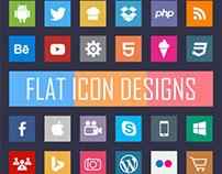 FLAT ICON DESIGNS