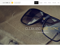Black Sea - Clean & Clear Multi-Purpose Theme