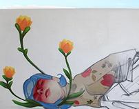 LA SIESTA cmyk graffiti