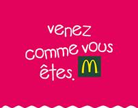// Bannières typo (Flash) // McDonald's