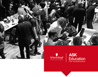 ASK Education Brochure layout