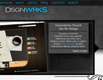 DsgnWrks Site Design