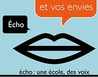 Echo, école de la voix